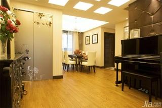 混搭风格三居室富裕型140平米以上储藏室过道装修效果图