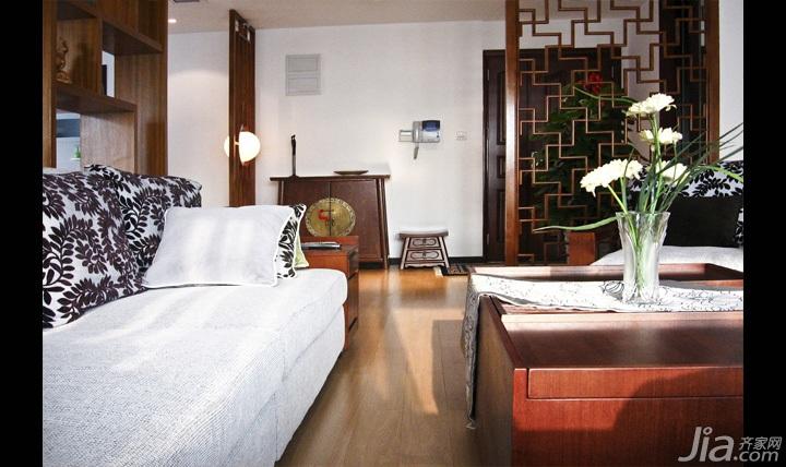 中式风格三居室富裕型140平米以上装修效果图