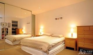 简约风格公寓经济型90平米卧室床海外家居