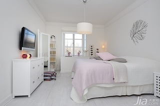 简约风格公寓温馨经济型120平米卧室床海外家居