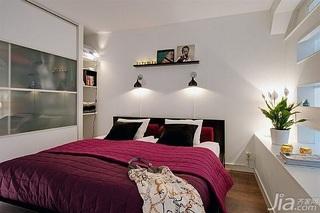 简约风格公寓经济型70平米卧室床海外家居