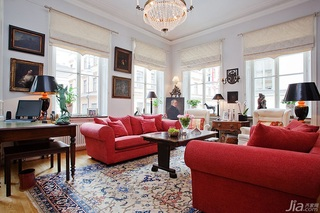 奢华美式别墅 艳丽古典完美融合