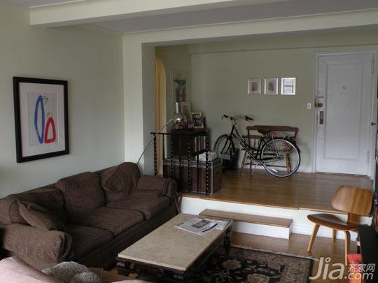 简约风格公寓经济型70平米客厅沙发海外家居