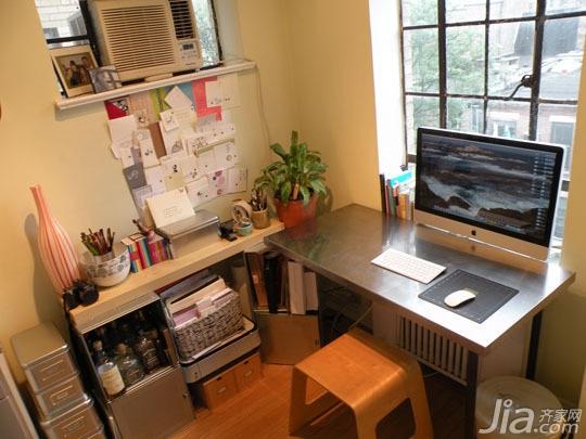 简约风格公寓经济型70平米书桌海外家居