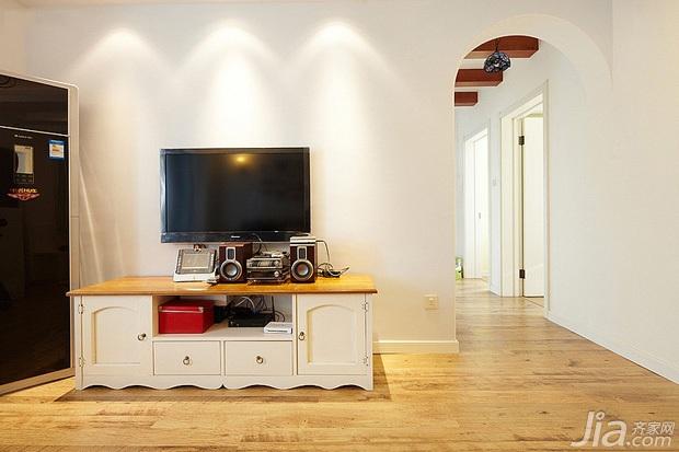 地中海风格二居室经济型电视柜效果图