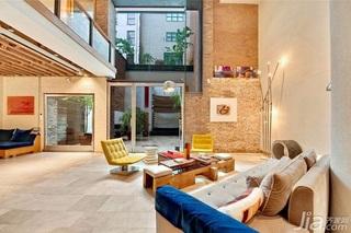 欧式风格跃层豪华型140平米以上客厅沙发效果图