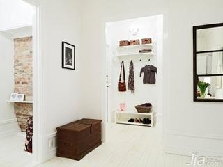 欧式风格一居室富裕型50平米门厅玄关柜效果图