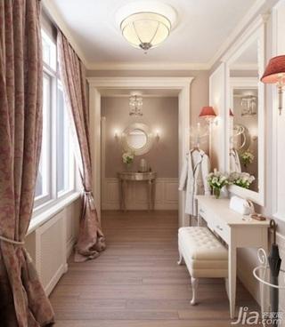 欧式风格二居室富裕型门厅窗帘效果图