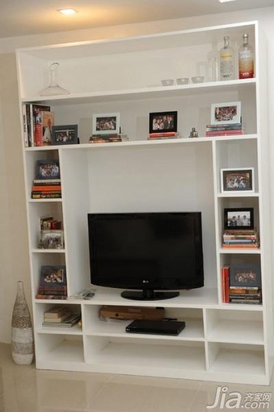 最新客厅电视柜图片大全-齐家网装修图片频道图片