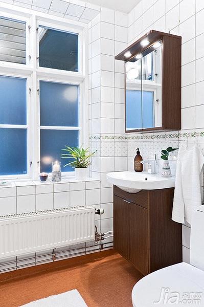 欧式风格一居室3万-5万卫生间洗手台效果图