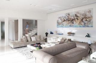 欧式风格别墅豪华型客厅沙发背景墙沙发效果图