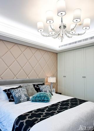 新古典风格四房豪华型140平米以上卧室衣柜设计图纸