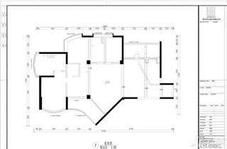 新古典风格四房豪华型140平米以上户型图