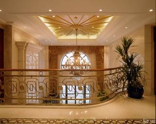 欧式风格复式豪华型140平米以上客厅灯具效果图
