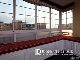中式风格别墅富裕型140平米以上客厅飘窗装修效果图