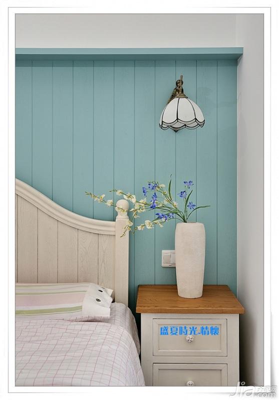地中海风格三居室富裕型90平米装修图片