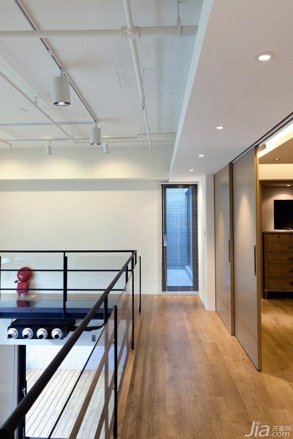 loft风格跃层富裕型走廊台湾家居