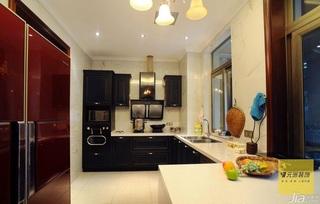 新古典风格别墅豪华型140平米以上厨房橱柜安装图