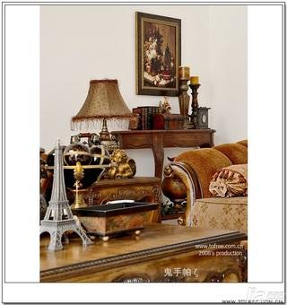 鬼手帕欧式风格别墅富裕型130平米客厅沙发效果图