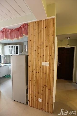 日式风格二居室10-15万90平米过道婚房家装图片