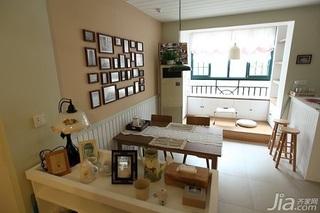 日式风格二居室10-15万90平米餐厅婚房家装图