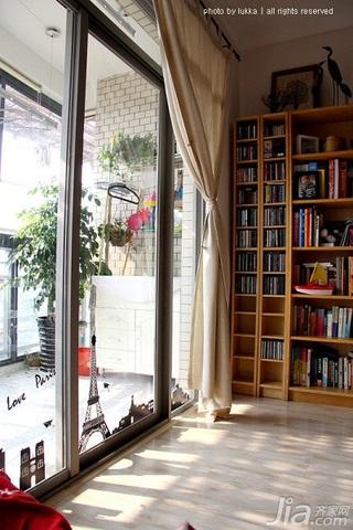 宜家风格二居室经济型90平米阳台装潢