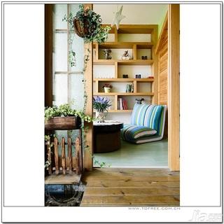 十上田园风格小户型经济型80平米阳光房沙发婚房家装图
