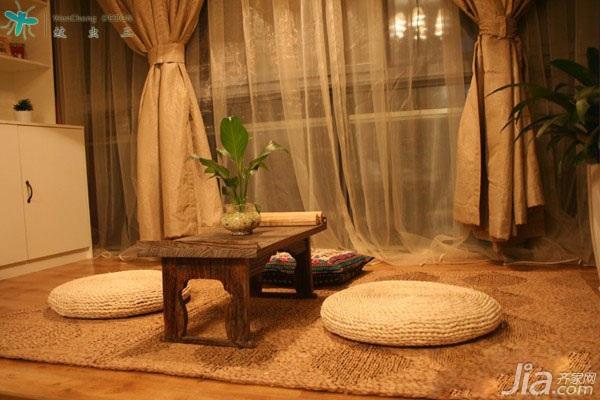 混搭风格小户型经济型60平米榻榻米设计