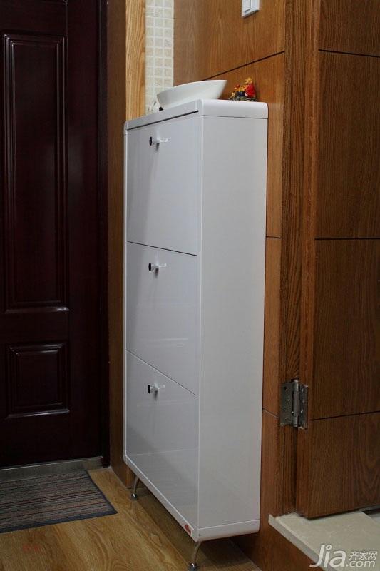 简约风格小户型经济型40平米玄关玄关柜效果图