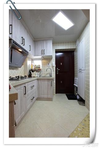 简约风格小户型经济型厨房橱柜图片