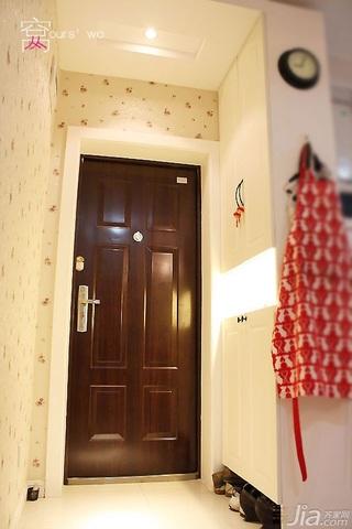 简约风格小户型经济型40平米玄关玄关柜图片