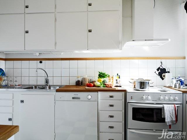 北欧风格小户型富裕型60平米厨房橱柜定做