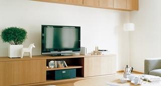 日式风格二居室经济型120平米电视柜效果图