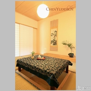 陈禹日式风格公寓经济型110平米卧室榻榻米效果图