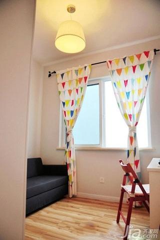 宜家风格小户型经济型50平米书房装潢