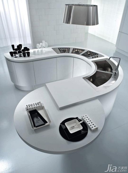 简约风格二居室富裕型130平米设计图