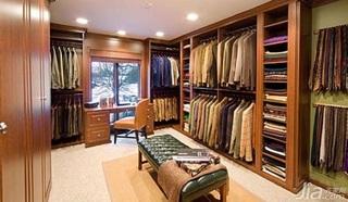 富裕型衣帽间衣柜设计图