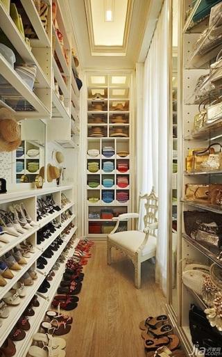 富裕型衣帽间衣柜图片