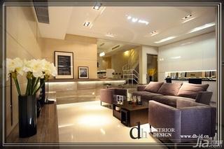 混搭风格别墅富裕型140平米以上客厅吧台沙发效果图
