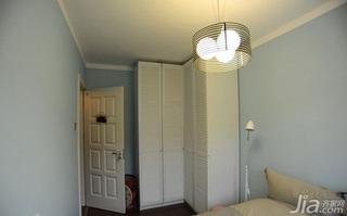宜家风格小户型小清新10-15万50平米卧室衣柜设计图纸
