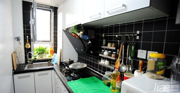 宜家风格小户型10-15万50平米厨房橱柜设计