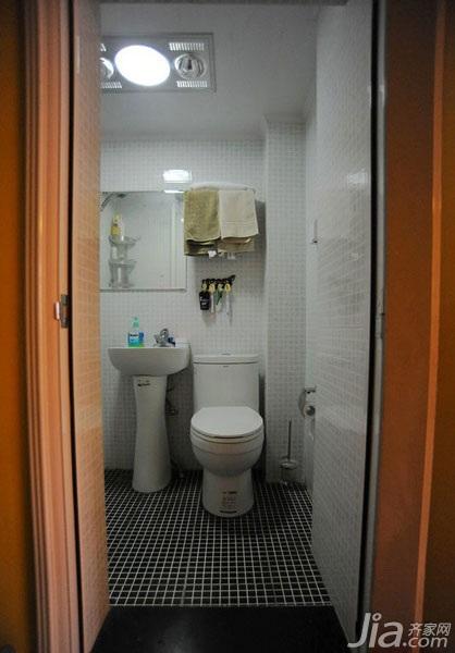 宜家风格小户型10 15万50平米卫生间效果图高清图片