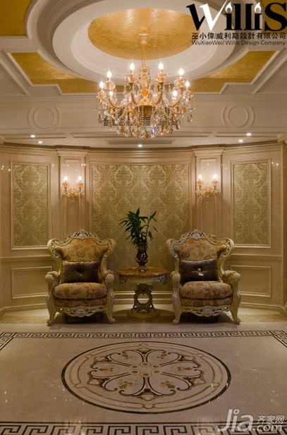 巫小偉-法式風情別墅 500平奢華展現