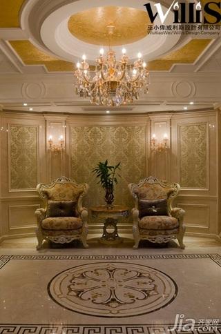 巫小伟欧式风格别墅奢华豪华型140平米以上门厅沙发效果图