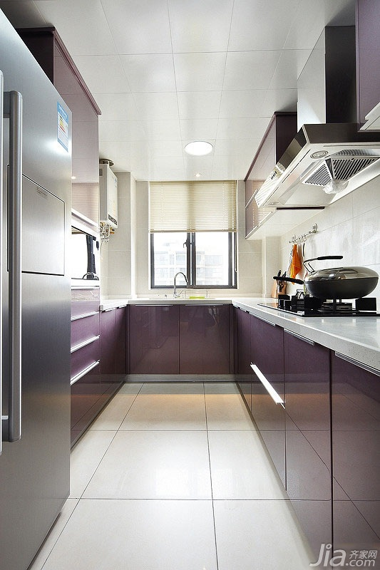 混搭橱柜三居室富裕型110平米厨房风格设计创意库设计字体下载图片