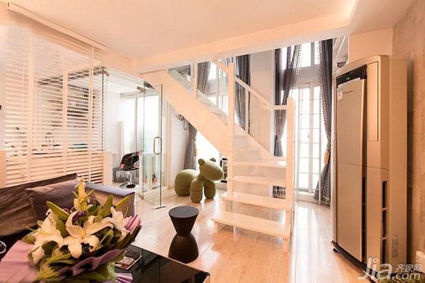 简约风格小户型富裕型楼梯效果图