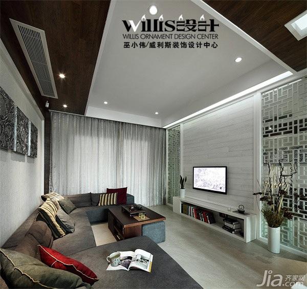 巫小偉-荷韻獨現 150平中式躍層公寓