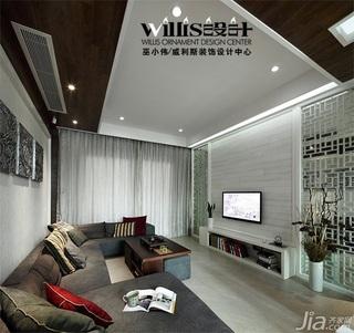 巫小伟-荷韵独现 150平中式跃层公寓