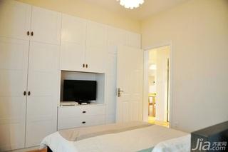 简约风格二居室富裕型50平米卧室电视柜效果图
