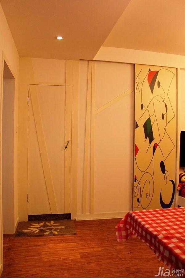 简约风格二居室经济型50平米效果图